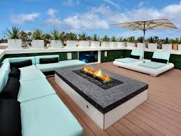 Rooftop Deck House Plans 50 Best Outdoor Fire Pit Design Ideas For 2017