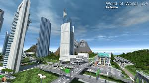 New York City Map For Minecraft by Minecraft World Of Worlds V3 0 Creation Minecraft Worlds Curse