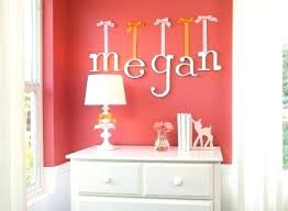 Nursery Wall Decor Letters Letters For Bedroom Wall Wall Letters And Wall Confetti Letter