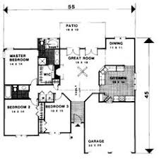 1500 Square Foot Ranch House Plans Traditional Style House Plans 1500 Square Foot Home 1 Story 3