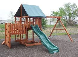 Backyard Swing Set Plans by 32 Best Swingsets And Playsets Images On Pinterest Swing Sets