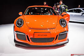 porsche gt3 rs orange shanghai 2015 porsche 911 gt3 rs gtspirit