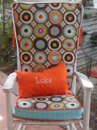 Chair Cushions Cheap Chair Furniture Navy Rocking Chair Cushions For Nurseryance