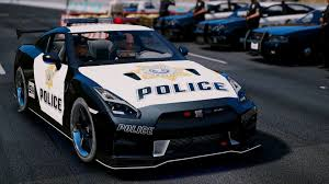 Nissan Altima Gtr - nissan gt r nismo police edition add on tuning gta5 mods com