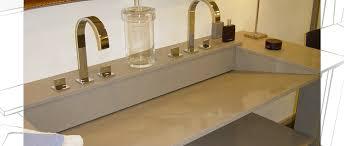 salle de bain plan de travail plan de travail salle de bains quartz arras pose sur mesure nord