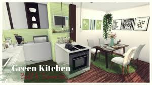 Green Kitchen Sims 4 Green Kitchen Room Mods For Download Youtube