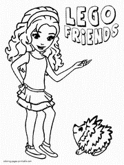 lego friends coloring page lego pet coloring page