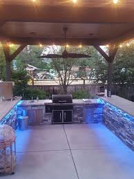 Outdoor Bbq Kitchen Designs 25 Best Outdoor Grill Area Ideas On Pinterest Grill Area