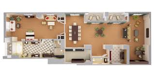 Rendering Floor Plans by Waldorf Astoria Orlando Luxury Resort Near Disney 3d Floor Plans