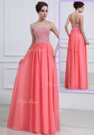 dresses for prom 2016 beautiful sweetheart watermelon prom dresses with beading