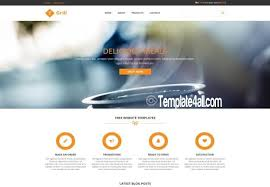 download layout html5 css3 responsive restaurant css template download