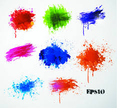 color paint splash round free vector download 26 682 free vector
