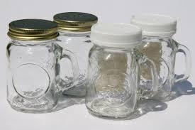 vintage mason jar spice jars or s u0026p shakers mini mason jar mugs w