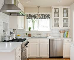 Kitchen Cabinet Curtains Modern Kitchen Window Curtains Fully Lined With Floral Pattern