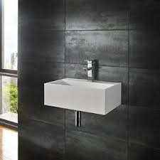 solid surface bathroom sinks solid surface 45cm by 30cm countertop wall mounted square cool