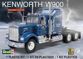 kenworth 2014 models revell monogram revell 1 25 scale kenworth w900 model kit toys