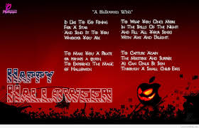 Old Halloween Poems Short Halloween Poems