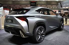 lexus lf nx lexus lf nx turbo rear three quarter indian autos blog