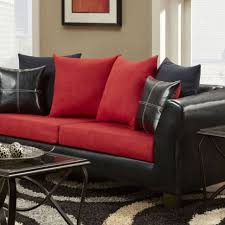 red contemporary sectional red leather sectional sofa clearance h