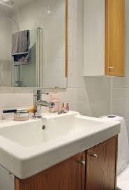 living room lovely scandinavian bathroom design with ceramic sink