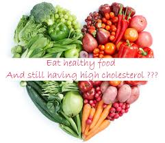 why is my cholesterol high even if i eat healthy food