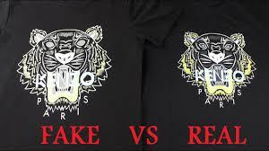 2017 real vs fake kenzo t shirt guide youtube