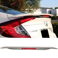 honda civic spoiler brake light ikonmotorsports 16 2016 17 2017 18 2018 honda civic 4dr sedan rs