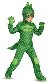Piccolo Halloween Costume Disguise Gekko Deluxe Toddler Pj Masks Costume Large46 U003e U003e U003e