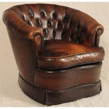 Leather Button Sofa Button Back Leather Sofa Matching Club Chairs