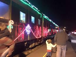 christmas lights train ride christmas train rides in san francisco bay area