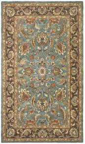 Rugs Savannah Ga Safavieh Heritage Blue Brown Oriental Rug Hg812b