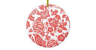 porcelain pattern ceramic ornament zazzle