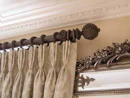 Chunky Wooden Curtain Poles Traditional Curtain Poles Nrtradiant Com