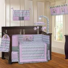 Zutano Elephant Crib Bedding Pink Elephant Bedding Wayfair