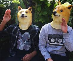 Doge Meme Pronunciation - doge mask funny stuff pinterest doge