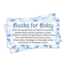 book instead of card baby shower