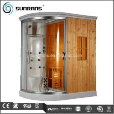 steam shower bath sauna combo wooden steam cabin box buy wooden