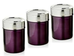 purple canister set kitchen purple kitchen canister sets thirdbio