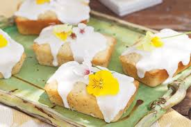 lemon poppy seed pound cakes with lemon glaze victoria magazine