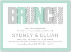 after wedding brunch invitation wording at last after wedding brunch invitations in gray or