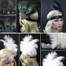 flapper headband diy 1920s feather headband ebay