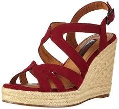 tamaris 1 28146 26 womens fashion sandals rot women u0027s shoes
