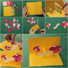 idea for how to make simple handmade cards with easy steps