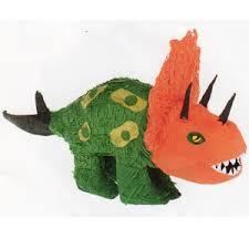 dinosaur pinata dinosaur triceratops pinata 13 h x 25 w dinosaur party supplies