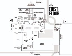 Lincoln Memorial Floor Plan Building Maps Memorial Union