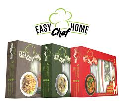 home design company in thailand modern elegant packaging design for easy home chef by anto