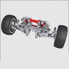 car suspension suspension 02 3d model cgstudio