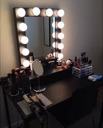 vanity mirror with lights ikea diy vanity mirror with lights for bathroom and makeup station ikea