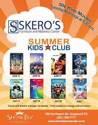 free summer kids movies houston 2017