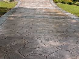 2017 Stamped Concrete Patio Cost Stamped Concrete For Your Great Front Yard Home Decor Studio
